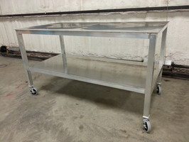 We Are Now Building Aluminum Tables. These Tables Work Very Well For  BUTCHERING. Whether In A Butching Shop Or Your Own Garage. Also Very Nice  Tables For ...