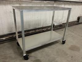 Aluminum Tables/Butchering Tables