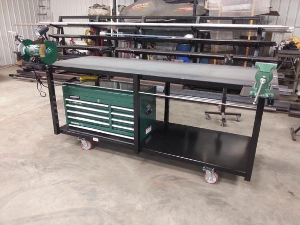 Dan S Custom Welding Tables Gibbon Mn High Quality