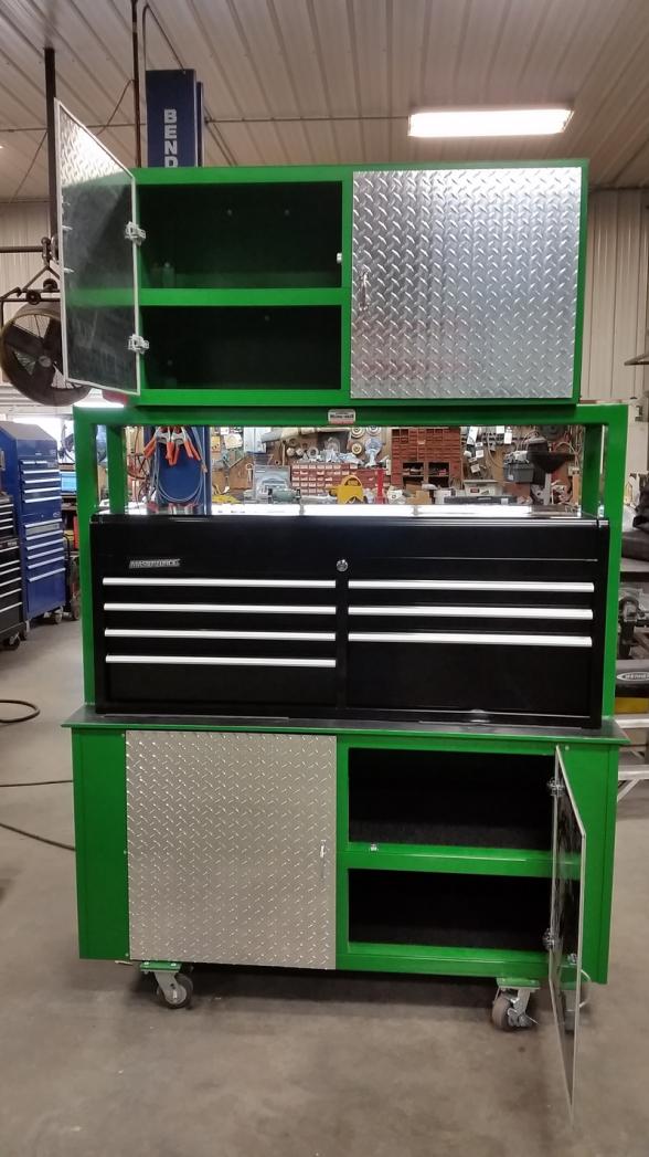 Dan S Custom Welding Tables Gibbon Mn High Quality Welding Tables Tool Cabinet
