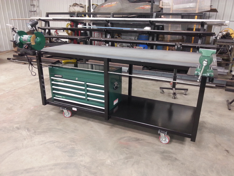 Dans Custom Welding Tables Gibbon MN High Quality