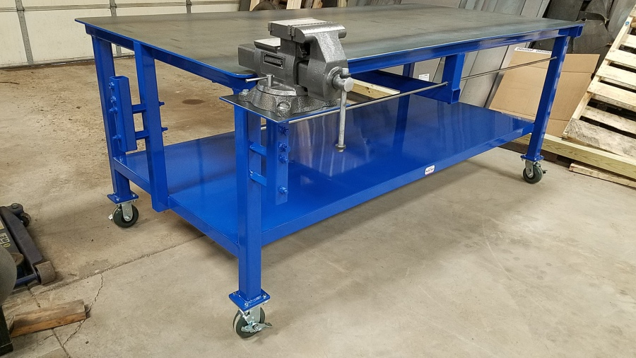 Dan S Custom Welding Tables Gibbon Mn Products Amp Services