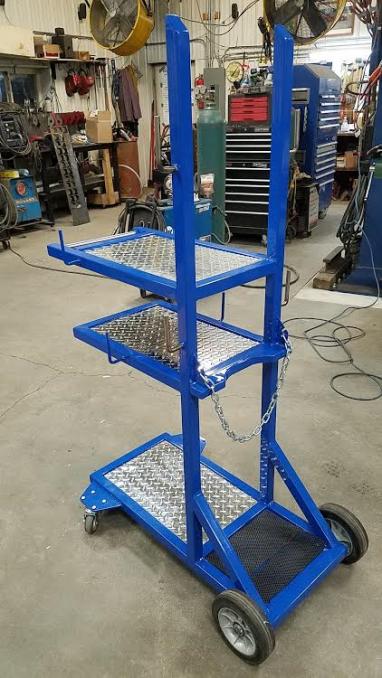 dans custom welding tables gibbon mn high quality