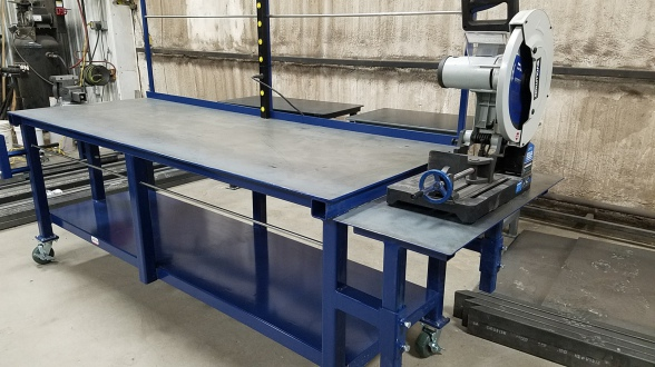 Dan S Custom Welding Tables Gibbon Mn High Quality