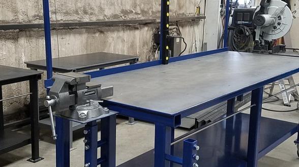 Dan S Custom Welding Tables Gibbon Mn High Quality Welding Tables