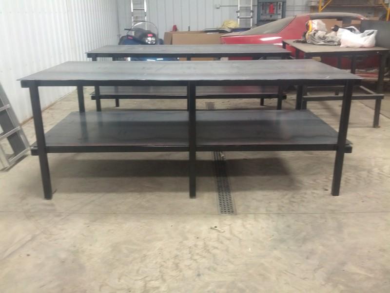 Nice 4u0027 X 8u0027 Table Capacity 20,000 Lbs.