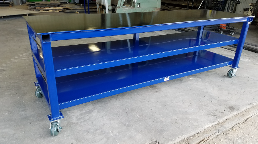 Charmant STEEL WORKBENCHS/WELDING TABLES